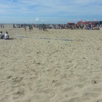Photo taken at European Beach Rugby Zeebrugge Camping by Ali E. on 6/29/2014