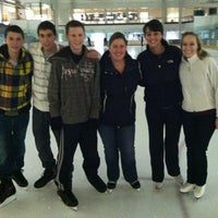 Photo taken at Ice Centre at the Promenade by Lauren on 11/3/2012