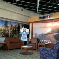 Photo taken at Findlay Kia Service Dept by SisDr U. on 11/1/2013