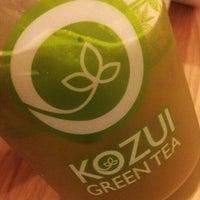 Photo taken at Kozui Green Tea by Jon E. on 2/8/2013