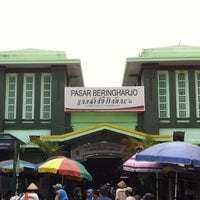 Photo taken at Pasar Beringharjo by trev p. on 11/30/2012