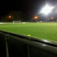 Photo taken at Trafford FC by Mark B. on 12/4/2012