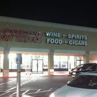 Photo taken at Spec's Wines, Spirits & Finer Foods by Taylor on 2/2/2013