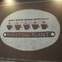 Photo taken at Roasting Plant Coffee by Riyeon K. on 11/11/2012