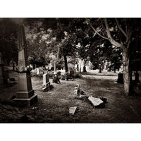 Photo taken at Lutheran-All Faiths Cemetery by Charles on 8/9/2013