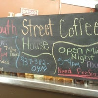 Photo taken at South Street Coffee House by Denise H. on 10/11/2012
