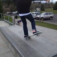 Photo taken at Gabriel Skate Park by Elliot C. on 2/17/2013