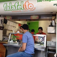 Photo taken at Falafelito by Carraol Y. on 4/15/2013