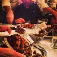 Photo taken at Peter Luger Steak House by Misshattan on 1/8/2013