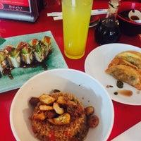 Photo taken at Sushi Time by Blanca on 8/6/2015