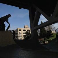 Photo taken at Burnside Skate Park by Kristi K. on 2/24/2013