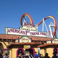 Photo taken at Knott's Berry Farm by Michael on 2/17/2013