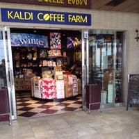 Photo taken at KALDI COFFEE FARM アトレ大井町2 by Leon Tsunehiro Yu-Tsu T. on 2/20/2014