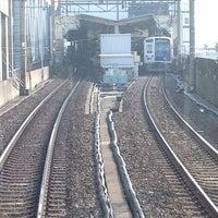 Photo taken at Yurakucho Line Shin-kiba Station (Y24) by Leon Tsunehiro Yu-Tsu T. on 2/28/2013