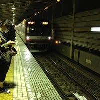 Photo taken at Yurakucho Line Shin-kiba Station (Y24) by Leon Tsunehiro Yu-Tsu T. on 3/13/2013