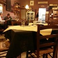 Photo taken at Antica Trattoria Del Tondo by Filippo D. on 3/20/2013