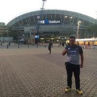 Photo taken at ANZ Stadium Millenium Room by Azzim S. on 5/23/2015