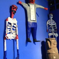 Photo taken at Museo Frida Kahlo by Cony on 3/30/2013