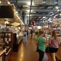 Photo taken at Milwaukee Public Market by Lisa E. on 8/18/2013