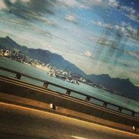 Photo taken at Ponte Rio-Niterói by Tiago on 2/26/2013