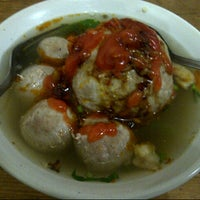 Photo taken at Bakso Jawir by andreibay_ on 6/8/2014