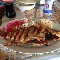 Photo taken at Pescaderia el sabroso by Esteban on 8/8/2013