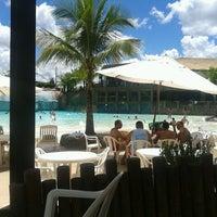 Photo taken at Nautico Praia Clube by Alline Q. on 3/9/2014