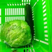 Photo taken at Shaws Supermarket by Jocelyn on 10/11/2012