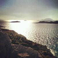 Photo taken at Kamiros Skala by Vademe K. on 10/5/2013