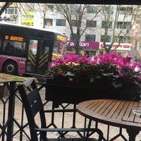 Photo taken at Caffé Nero by Özge Ş. on 11/30/2016
