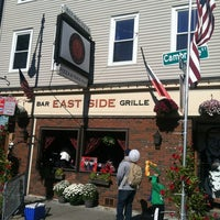 Photo taken at East Side Bar & Grill by Donald W. on 10/21/2012