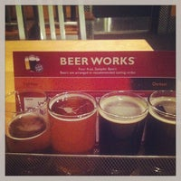 Photo taken at Boston Beer Works by Donald W. on 2/17/2013