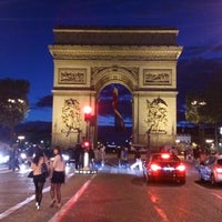 Photo taken at Place Charles de Gaulle by Olya *. on 5/9/2013