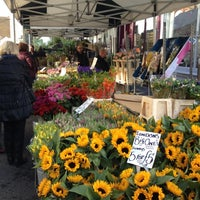 Photo taken at Columbia Road Flower Market by Van H. on 10/7/2012