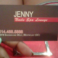 Photo taken at Jenny Nails by MONTREALiN on 9/28/2012