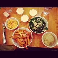 Photo taken at Veggie Grill by Eco-Vegan Gal on 11/10/2012