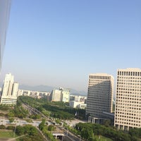 Photo taken at Toyoko Inn Daejeon by YongJin J. on 5/18/2014