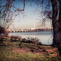 Photo taken at Gravelly Point Park by Desiree L. on 12/18/2012