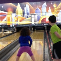 Photo taken at AMF Pikesville Lanes by Aharon D. on 4/12/2014