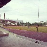 Photo taken at Sekolah Sultan Alam Shah (SAS) by Syima Kamal on 10/6/2013