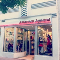 Photo taken at American Apparel by Anton W. on 2/10/2014