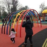 Photo taken at Clemyjontri Park by Allan N. on 12/2/2012