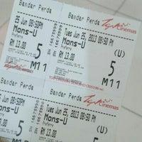 Photo taken at TGV Cinemas by Fitry J. on 6/25/2013