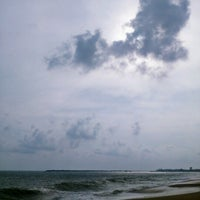 Photo taken at Kollam Beach by Ajay K. on 5/7/2013