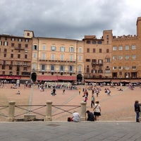 Photo taken at Piazza del Campo by Keith E. on 5/10/2013