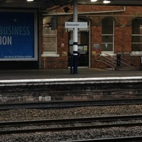 Photo taken at Doncaster Railway Station (DON) by Sammie S. on 12/29/2012
