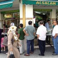 Photo taken at Al-Salam Restaurant by Sahir on 9/20/2012