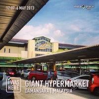 Photo taken at Giant Hypermarket by MOHD HARIZAL I. on 5/6/2013