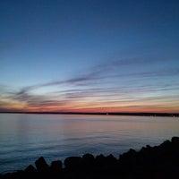 Photo taken at Sylvan Beach NY by Tiffany T. on 6/10/2013