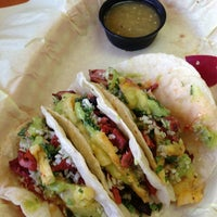 Photo taken at America's Taco Shop by Quiera on 8/28/2013
